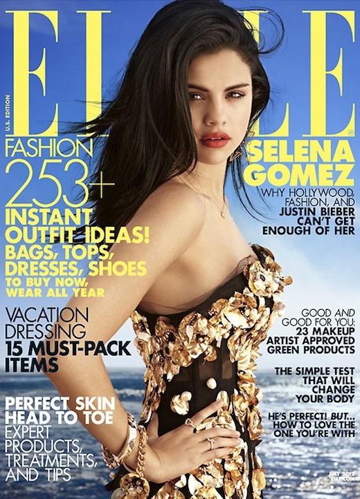 Selena Gomez covers ELLE US - July 2012