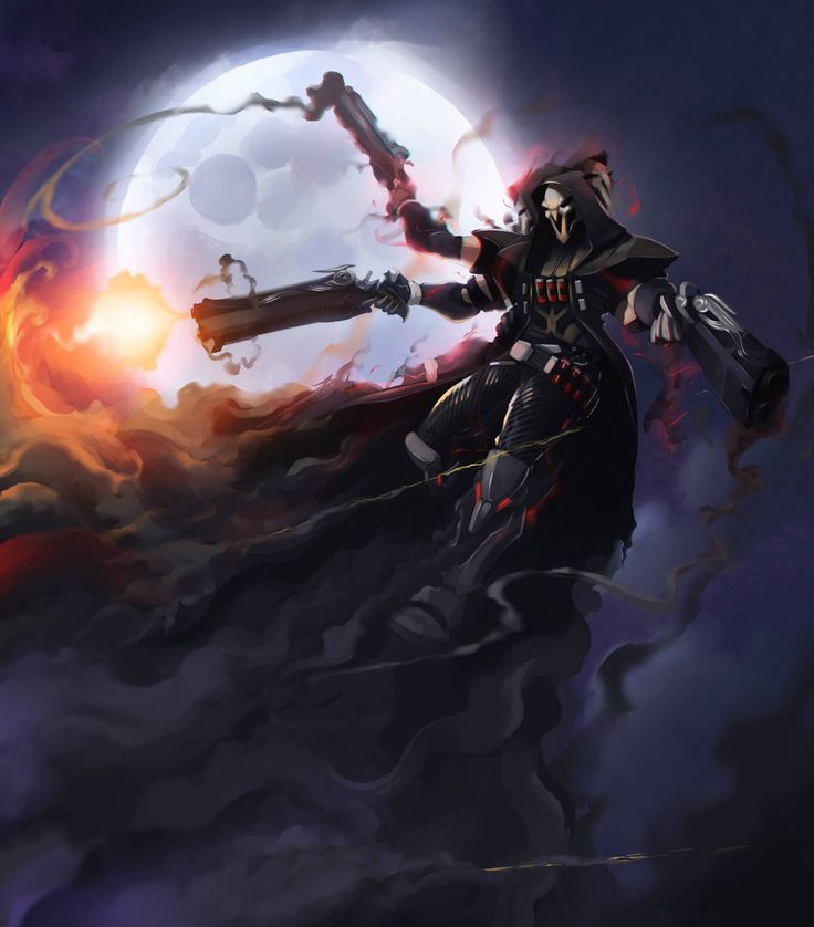 ArtStation - Overwatch - Reaper, Botos Vlad