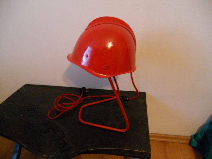 lampa hełm strażacki