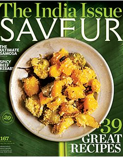 Saveur magazine's India issue. Obviously not a book but we're treating this issue like one. A must have for anyone who enjoys cooking Indian food or reading food/travel essays.