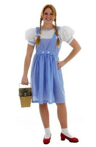 >> Click to Buy << Rubie's Costume Wizard Of Oz Adult Dorothy Cotton Bow Sweet Lolita Dress Maid Cosplay Lolita Dress Costumes Cute #Affiliate