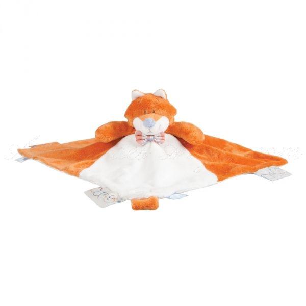Doudou Henry - Noukies: le malin petit renard Noukies fait un adorable doudou à personnaliser