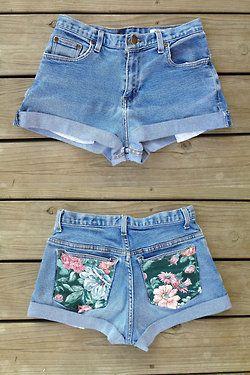 DIY pocket shorts. I really wanna make some!