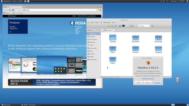 The Rose Labs team after the release of KDE and LXDE has recently announced the arrival of the new GNOME PINK Marathon 2012.  PINK Marathon 2012 GNOME is released with Gnome version 2.32, the release is intended for users who do not like Gnome 3 and I want a desktop environment to date, stable and efficient.