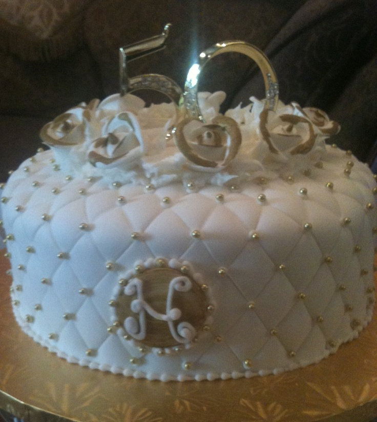 Diamond 50th anniversary cake fiftieth anniversary cake pinterest