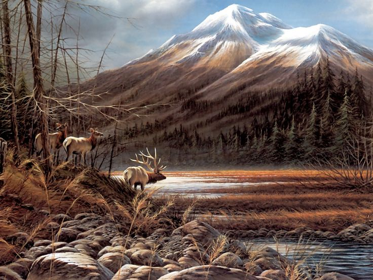 Paint Falling Wallpaper Terry Redlin Paintings Posted In Terry Redlin Art