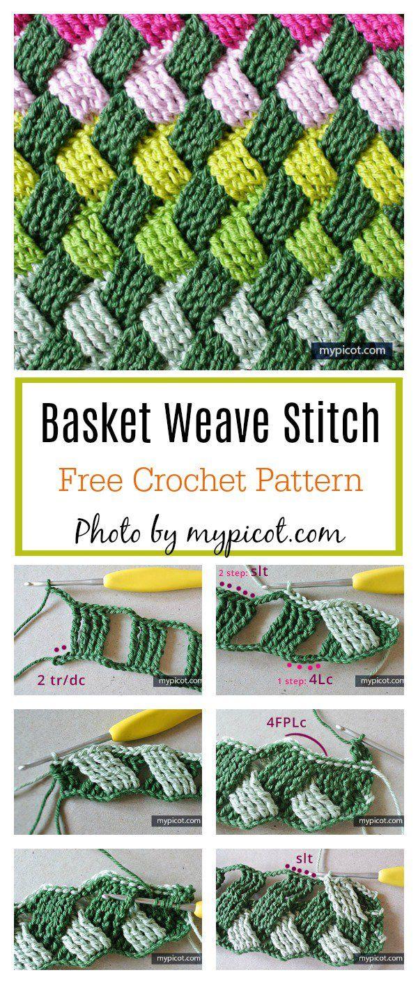 Celtic Basket Weave Stitch Free Crochet Pattern Crochet