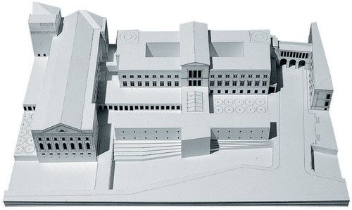 Architectural Drawings, Models, Photos, etc... — Giorgio Grassi - Neues Museum, Berlin