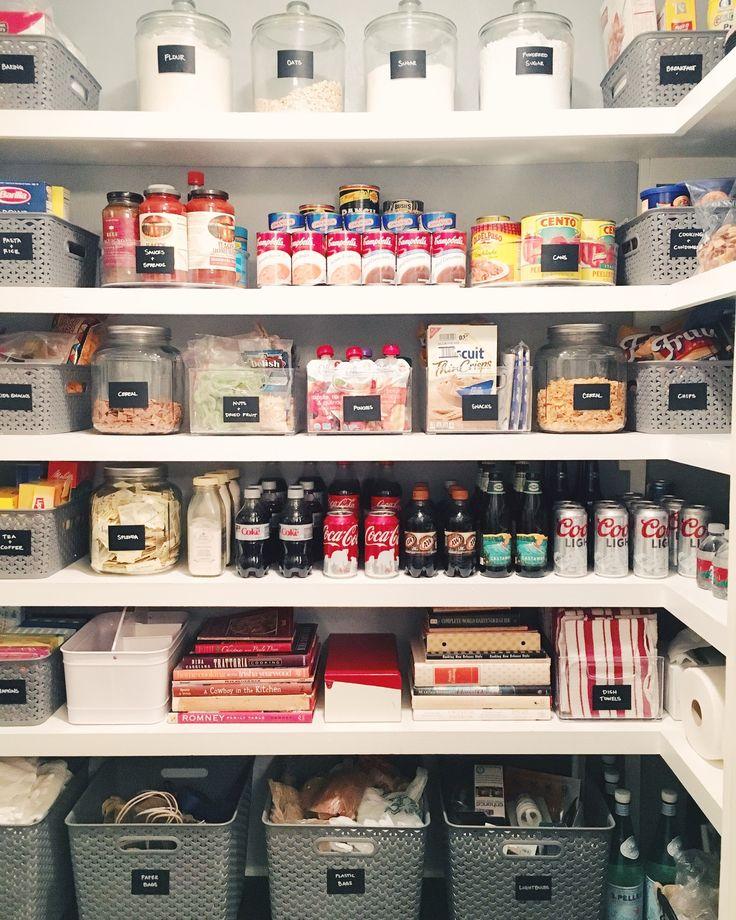 Kitchen Organization Pantry Organizing Ideas