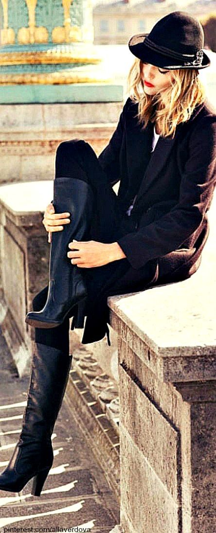 Street style - Sasha Pivovarova.
