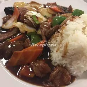 Vaření top receptu Hovězí maso po Sečuánsku