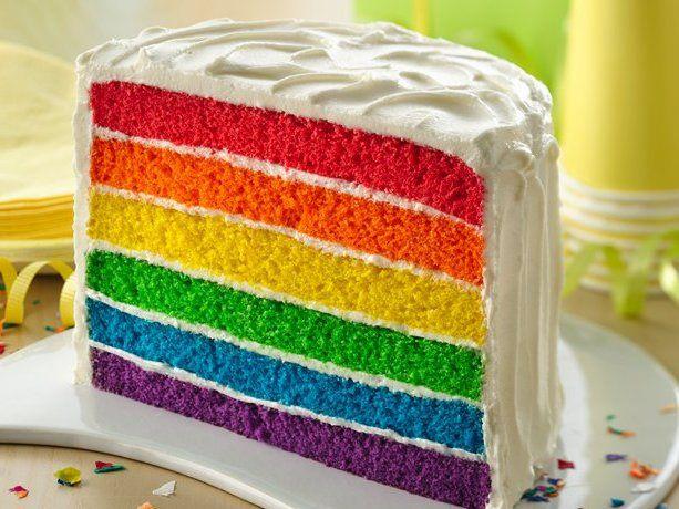 Ma recette du Rainbow cake - Trucs et astuces pour les femmes