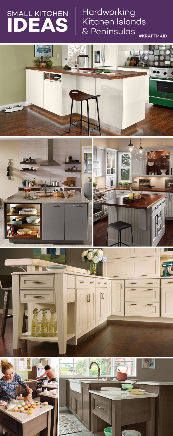 9 besten Small-Kitchen Ideas by KraftMaid® Bilder auf Pinterest ...