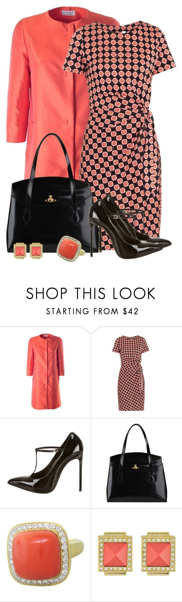 """Senga"" by rotwein ❤ liked on Polyvore featuring Alberto Biani, Diane Von Furstenberg, Yves Saint Laurent, Vivienne Westwood and Sequin"