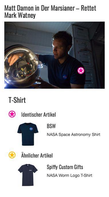 Mit dem NASA-Emblem direkt über dem Herzen lässt Mark Watney (Matt Damon) keinen Zweifel daran, dass er an die Rückkehr seiner Freunde und Kollegen glaubt. Das dunkelblaue T-Shirt ist nicht auf einen modernen Look, sondern vielmehr auf Funktionalität ausgerichtet: Die gebürstete, super leichte Baumwolle schmiegt sich weich an die Haut an und die lockere Passform lässt genügend Bewegungsspielraum für anfallende Reparaturarbeiten.