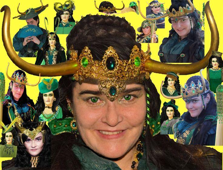 Lady Loki as played by DevLynneDishington (@DevLDishington), who presents FUN with Lady Loki, following her explains in Midgard throughout human history