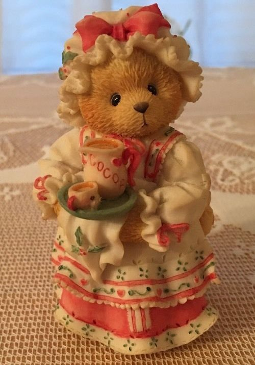 "Cherished Teddies-141119-Holly-1995-""A Cup Of Homemade Love""."