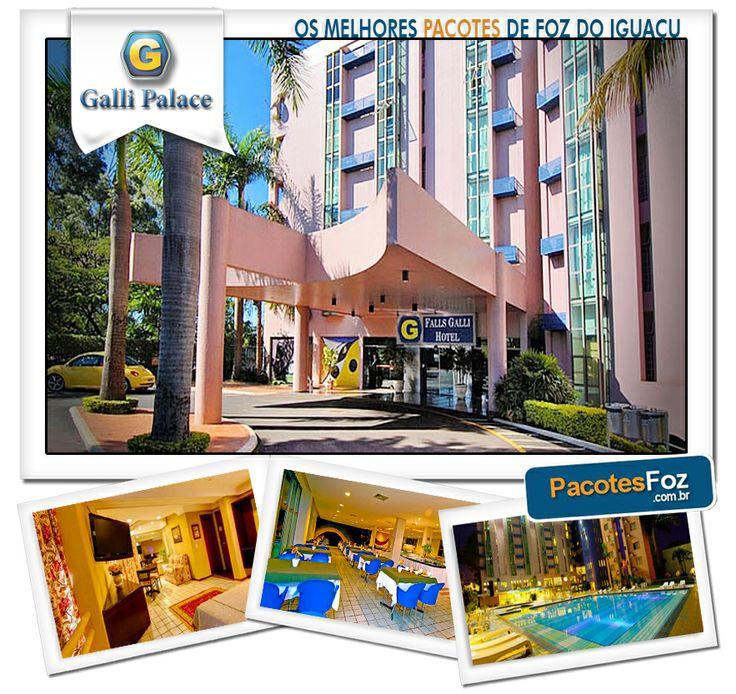 Corra e reserve o seu antes que a promoção expire!  Pacote com 2 noites para 2 pessoas no Falls Galli Hotel + Transfer para o Paraguai, Duty Free Shop e Casino Iguazú por apenas R$ 415,00. Parcelamento em até 12X!  Acesse http://www.pacotesfoz.com.br/ e aproveite essa e outras promoções exclusivas. E curta a nossa fanpage para receber mais novidades: https://www.facebook.com/pages/PacotesFoz/232694180173736?fref=ts