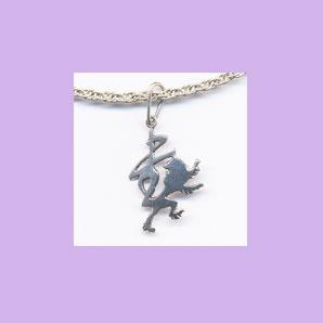 Caratteri da collezione / Collectible characters /  值得收藏的文字         Charm in argento      Silver charm           銀質手鏈    Size: 15 x 25 mm      Tiratura limitata / Limited edition / 限量版