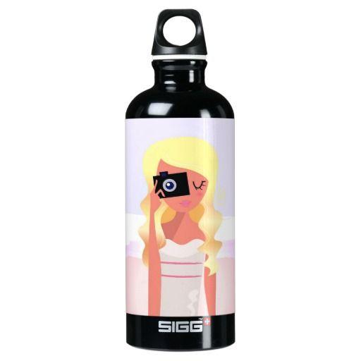 Black bottle with Original illustration