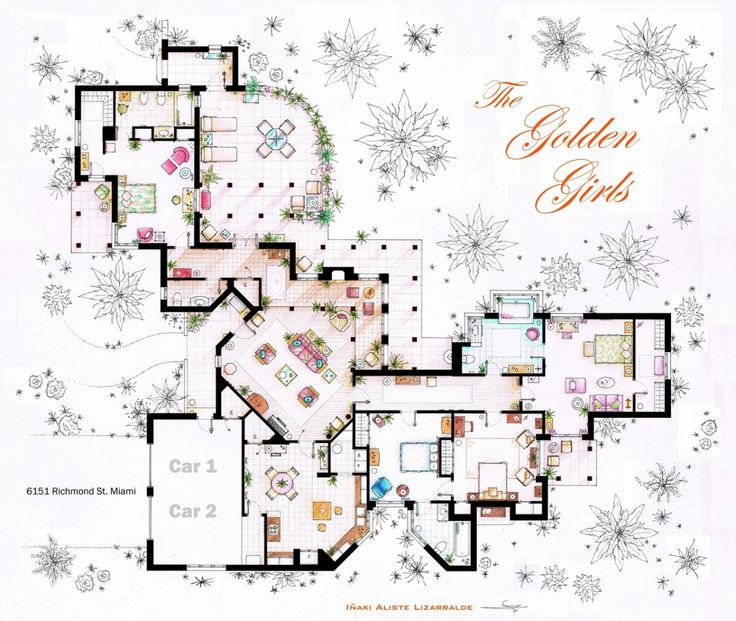 19 best tv show floor plans images on pinterest arquitetura floor