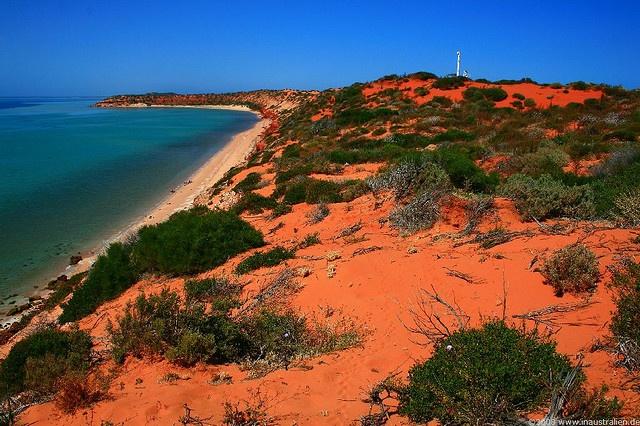Where the red desert meets the sea... Francois Peron National Park, Western Australia.