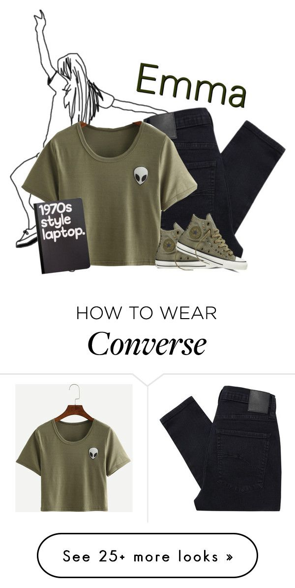 """""""shout-out."""" by evenifwecantfindheaven on Polyvore featuring Nobody Denim, Converse and Retrò"""