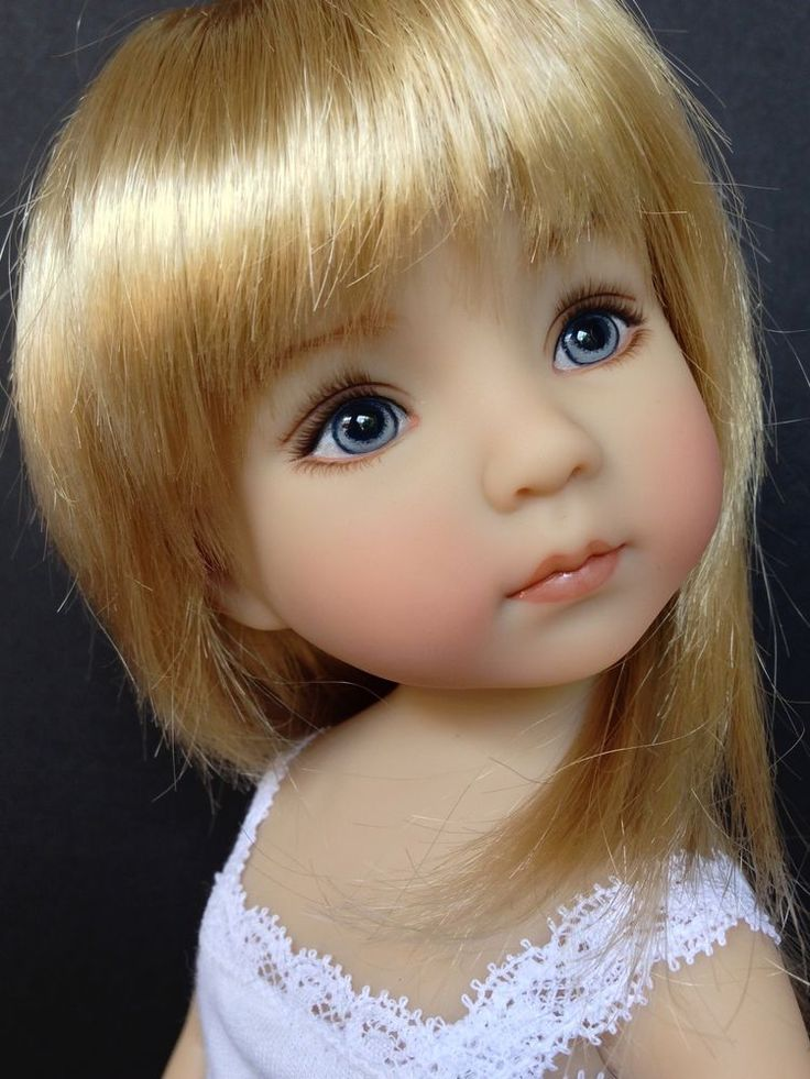 DIANNA EFFNER LITTLE DARLINGS DOLL - NIB - Painted by MASTER ARTISAN GERI URIBE #Dolls