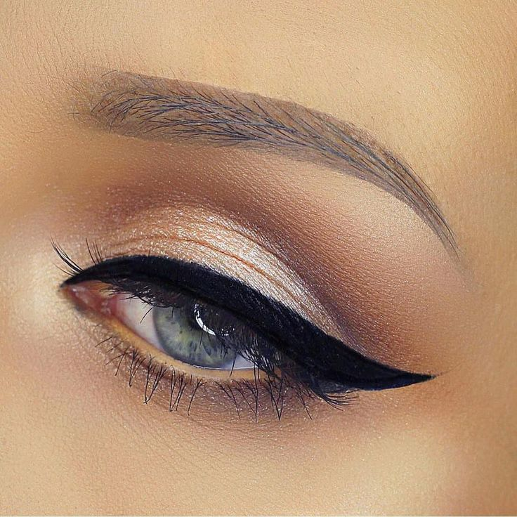 NEW MAKE UP INSPIRATION by vegas_nay #beauty   i like the eye... but those eyebrows...?