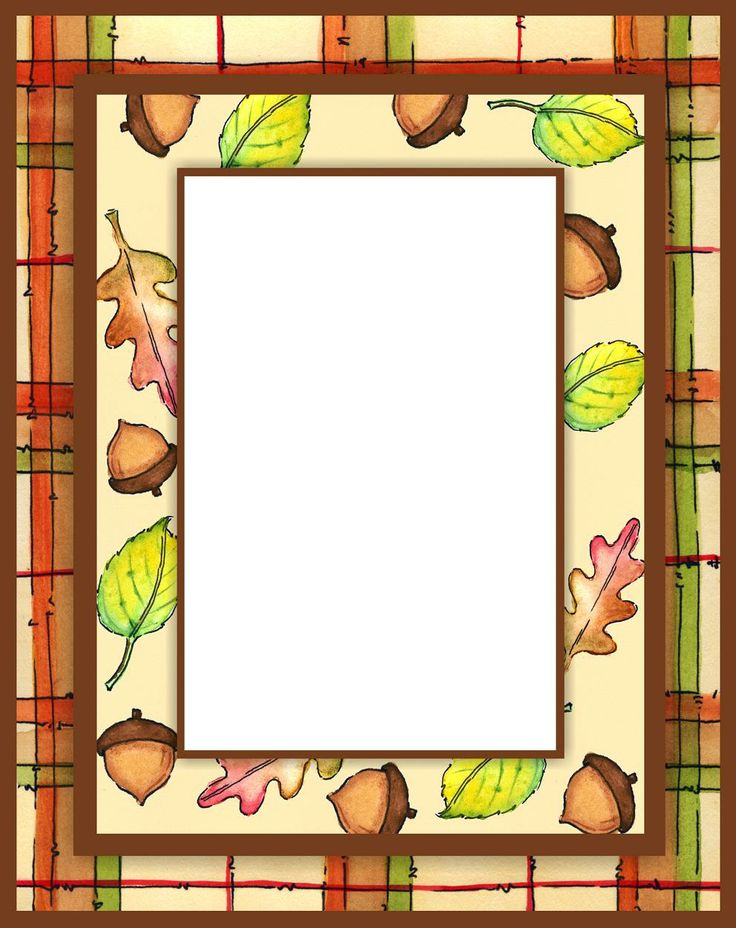 Fall frame by Olivia