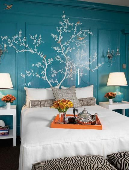 Colorful Bedrooms: Choose Your Perfect Palette | Traditional Home