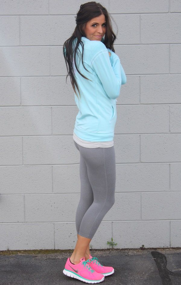Super Cute Workout Outfit...love The Shoes!!