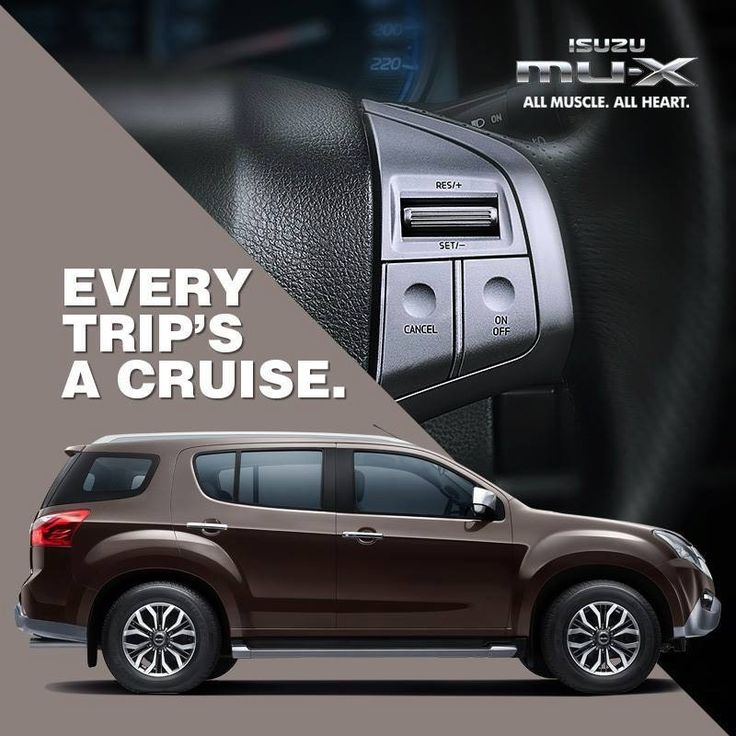 Make your long trips pleasurable and fatigue free with the Cruise control in ISUZU mu-X. For details and test drive contact: 78670 11377, 0452 2489614 #arasautomotive #isuzu #dmax #madurai