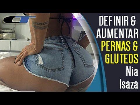 TREINO RAPIDO PARA AUMENTAR O BUMBUM EM CASA! Treino de Pernas e Gluteos  Como Aumentar Gluteos - YouTube