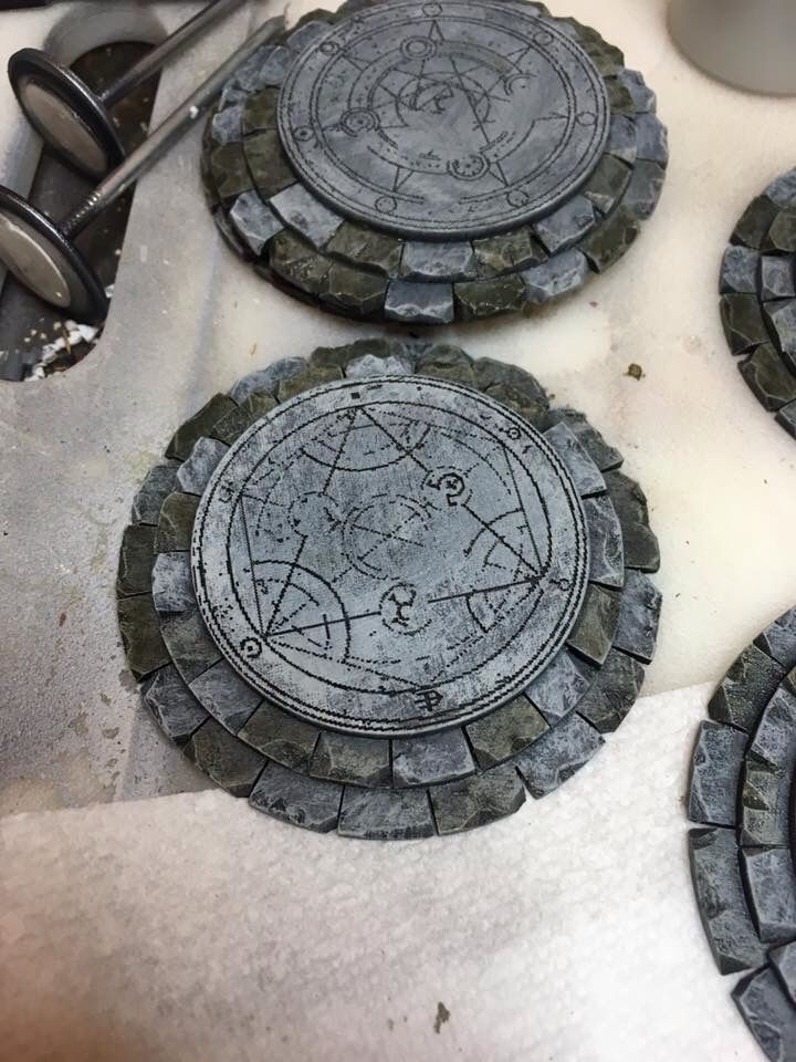 Portals - Small, simple pieces that add interest to the dungeon.