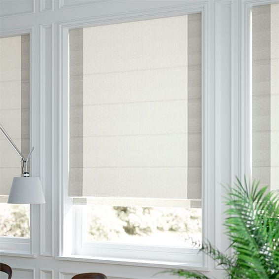 Puritan Dove White Roman Blind Blinds Online White Roman