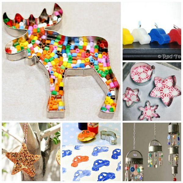 25 Cookie Cutter Craft Ideas
