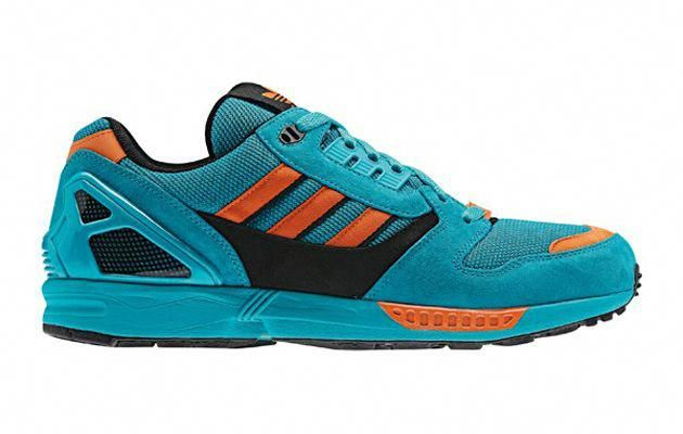 adidas ZX 8000 shoes green purple black