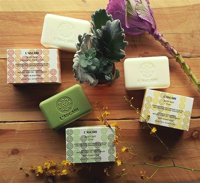L'ASCARI Organic Body Bars - L'ASCARI - Product Showroom 2016