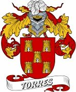 De Torres Spanish Coat Of Arms www.4crests.com #coatofarms #familycrest #familycrests #coatsofarms #heraldry #family #genealogy #familyreunion #names #history #medieval #codeofarms #familyshield #shield #crest #clan #badge #tattoo #crests #reunion #surname #genealogy #spain #spanish #shield #code #coat #of #arms