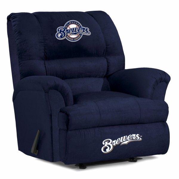 Free Furniture In Milwaukee: Milwaukee Brewers MLB Big Daddy Recliner Chair/Furniture