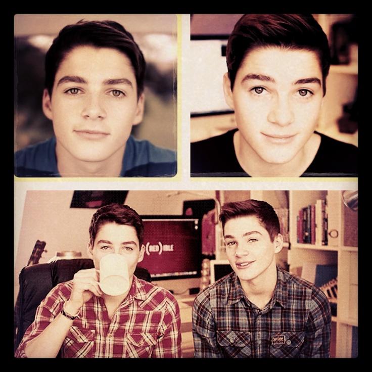 Finn and Jack=AWESOMENESS!!! Cute twins on YouTube love them! <3 Jackgap