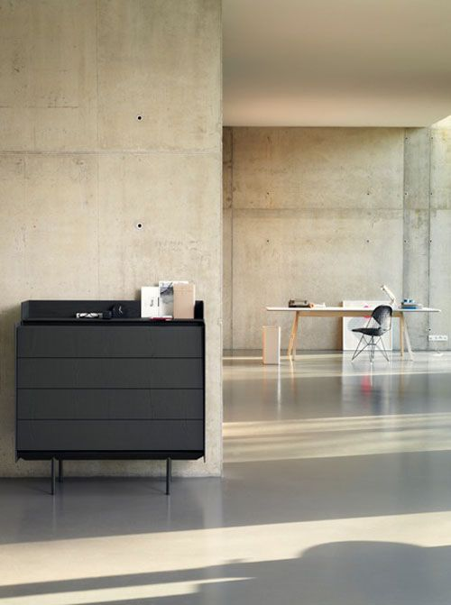 Highboard & Table by Eric Degenhardt for Böwer