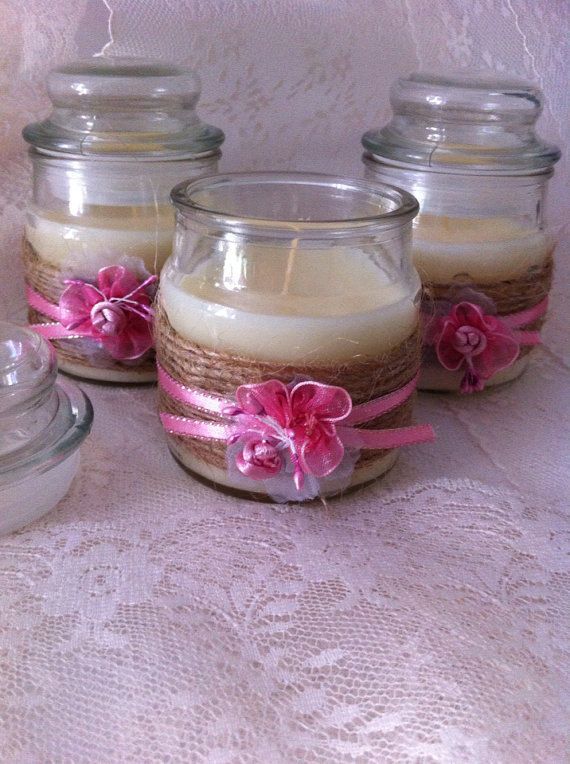 Extrêmement Oltre 25 idee carine per Bomboniere candela su Pinterest  UW14