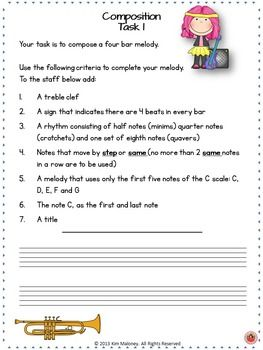 How to Compose a Melody – Tips for Grade 5 Theory of Music