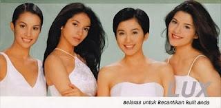 Iklan Lux Nadya Hutagalung, Vira Yuniar, Desy Ratnasari dan Tamara Bleszinsky