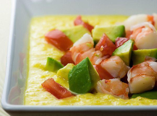 soft tacos true grits with southwestern shrimp cold grilled vegetable ...