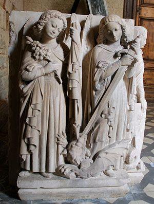 Fanjeaux - Dismantled Medieval Cathar Castle in France