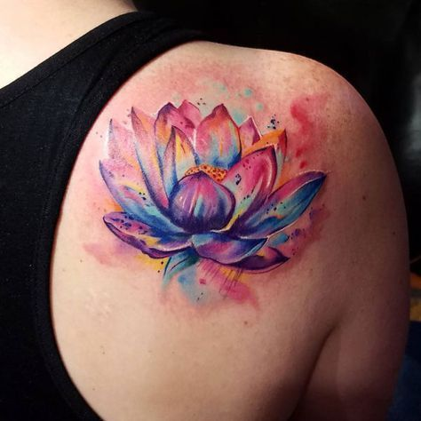 61 Best Lotus Flower Tattoo Designs + Meanings (2019 Guide) –  – #smalltattoos