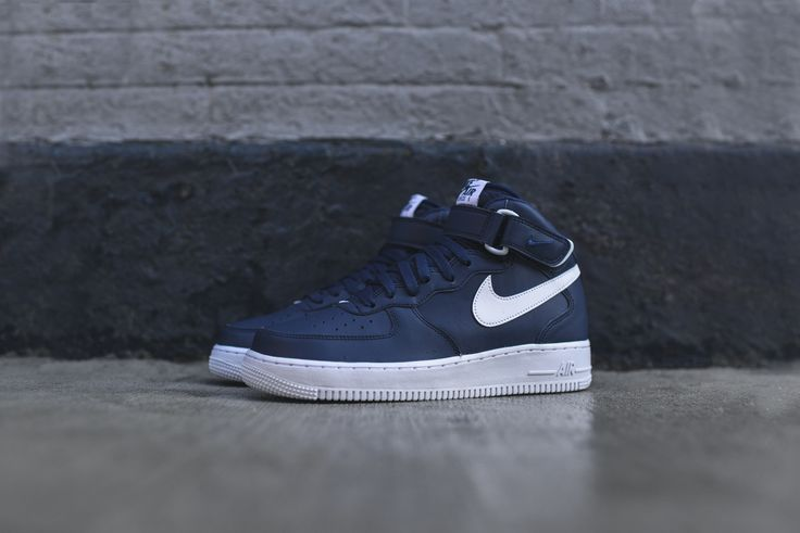 nike air force 1 navy blue
